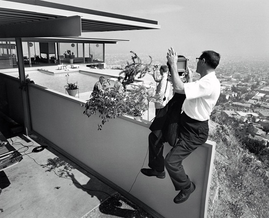 julius shulman at the stahl house