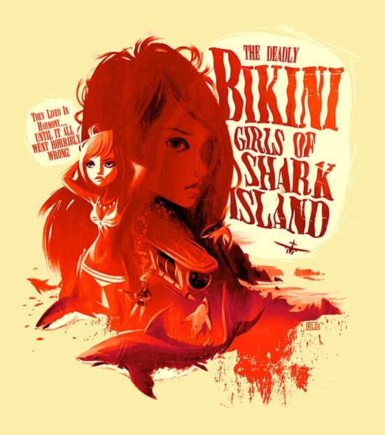 deadly bikini girls of shark island