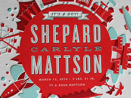 0003_Mattson_birth_announcement_letterpress_typography